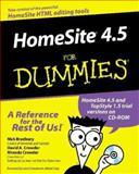 Homesite 4.5 for Dummies, Nick Bradbury and David A. Crowder, 0764507079