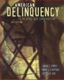 American Delinquency : Its Meaning and Construction, Empey, LaMar T. and O'Reilly, 0534507077