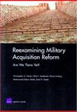 Reexamining Acquisition Reform, Christopher Hanks and Elliot Axelband, 0833037072