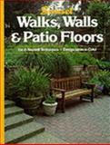 Walks, Walls and Patio Floors, Sunset Publishing Staff, 0376017074