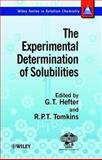 The Experimental Determination of Solubilities, , 0471497088