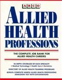 Allied Health Professions, Arco Editorial Staff, 0671847082