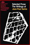 The Writings of Jean-Paul Sartre Vol. 2, Sartre, Jean-Paul, 0810107090