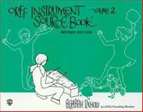 Orff Instruction Source Book, Elizabeth Nichols, 0910957096