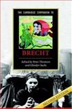 The Cambridge Companion to Brecht, , 0521857090