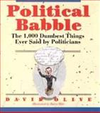 Political Babble, David Olive, 0471577103