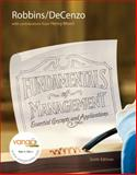 Fundamentals of Management : Essential Concepts and Applications, Robbins, Stephen P. and De Cenzo, David A., 0136007104