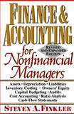 Finance and Accounting for Nonfinancial Managers, Finkler, Steven A., 0131577107