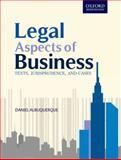Legal Aspects of Business, Albuquerque, Daniel, 0198077106