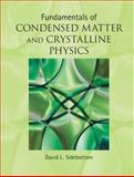 Fundamentals of Condensed Matter and Crystalline Physics : An Introduction for Students of Physics and Materials Science, Sidebottom, David L., 1107017106