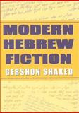 Modern Hebrew Fiction 9780253337115
