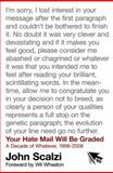 Your Hate Mail Will Be Graded, John Scalzi, 0765327112