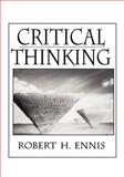 Critical Thinking, Ennis, Robert H., 0133747115