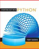 Starting Out with Python, Gaddis, Tony, 0321537114