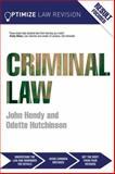 Optimize Criminal Law, Hendy, John, 0415857120