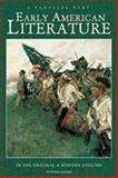 Early American Literature, Dianne Faith Eickhoff, 0780797124