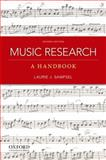 Music Research : A Handbook, Sampsel, Laurie J., 0199797129