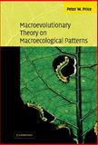 Macroevolutionary Theory on Macroecological Patterns 9780521817127