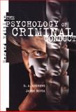 The Psychology of Criminal Conduct, Andrews, D. A. and Bonta, James, 0870847120