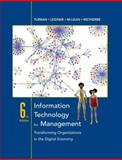 Information Technology for Management : Transforming Organizations in the Digital Economy, Turban, Efraim and McLean, Ephraim, 0471787124
