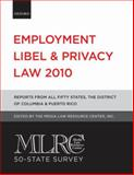 Employment Libel and Privacy Law 2010, , 0199737134
