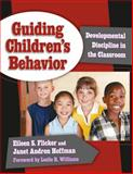 Guiding Children's Behavior, Eileen S. Flicker, 0807747130