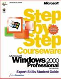 Microsoft Windows 2000 Professional Step-by-Step Courseware Expert Skills Color Class Pack, ActiveEducation Staff, 0735607133