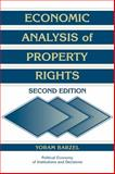 Economic Analysis of Property Rights, Barzel, Yoram, 0521597137