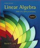 Linear Algebra and Its Applications, Lay, David C., 0321287134