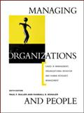 Managing Organizations and People 6th Edition