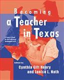 Becoming a Teacher in Texas 9780534557140