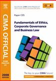 CIMA Official Exam Practice Kit Fundamentals of Ethics, Corporate Governance and Business Law : Certificate in Business Accounting, Mead, Larry and Bampton, Kevin, 0750687142