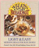 What's for Breakfast?, Donna S. Roy and Kathleen Flores, 0962047147