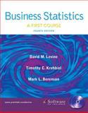 Business Statistics, David M. Levine and Timothy C. Krehbiel, 0131547143