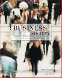 Business and Society : Stakeholders, Ethics, Public Policy, Lawrence, Anne T. and Weber, James, 0078137152