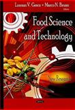 Food Science and Technology : New Research, Lorenzo V. Greco, 1604567155