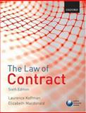 The Law of Contract, Koffman, Laurence and Macdonald, Elizabeth, 0199207151