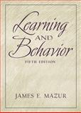 Learning and Behavior, Mazur, James E., 0130337153