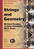 Strings and Geometry, , 082183715X