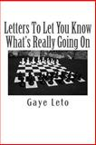 Letters to Let You Know What's Really Going On, Gaye Leto, 1495317153