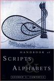 Handbook of Scripts and Alphabets, Campbell, George L., 0415137152