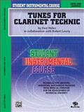 Student Instrumental Course Tunes for Clarinet Technic, Robert Lowry and Fred Weber, 0757907156
