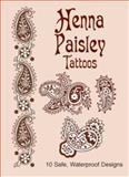 Henna Paisley Tattoos, Anna Pomaska, 0486437167