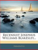 Recensuit Josephus Williams Blakesley, Herodotus, 1144547164