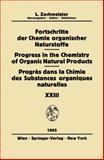 Fortschritte der Chemie organischer Naturstoffe / Progress in the Chemistry of Organic Natural Products, , 3211807160