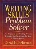 Writing Skills Problem Solver, Carol H. Behrman, 0130217166