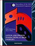 Lepton and Photon Interactions at High Energies : Lepton-Photon 2003, Harry W. K. Cheung, Tracey S. Pratt, 9812387161
