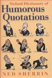 Humorous Quotations, , 0199237166