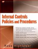 Internal Controls Policies and Procedures, Hightower, Rose, 0470287179