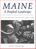 Maine, a Peopled Landscape 9780874517170
